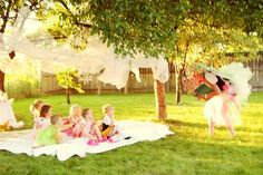 Top Tips for Children's Party Planning: Fairy Party Games (brownie fairy fun) Fairy Party Games, Fairy Tea Parties, Fun Party Games, Fairy Birthday Party, Party Activities, 1st Birthday Girls, Birthday Ideas, Garden Parties, Party Ideas