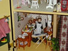 Casa de muñecas - Miniaturas - YouTube