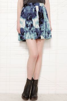 1ecac6d548db Evil Twin Dry Lightning Skater Skirt at Urban Outfitters