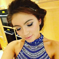 Prom make up - elegant and not too strong