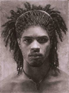 Mary Borgman   Charcoal on Mylar - Art Curator & Art Adviser. I am targeting the most exceptional art! See Catalog @ http://www.BusaccaGallery.com