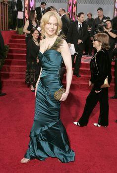 Nicole Kidman in Gucci, Golden Globes 2005