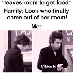 Find images and videos about funny, one direction and food on We Heart It - the app to get lost in what you love. Imagines One Direction, One Direction Quotes, One Direction Harry, One Direction Fanfiction, 1d Imagines, Crazy Funny Memes, Really Funny Memes, Stupid Memes, Slytherin