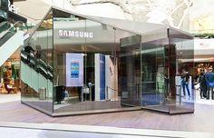 Pop up Shop | Pop up Store | Retail Design | Retail Display | Samsung Pop-up Store Samsung Store, Module Design, Digital Retail, Retail Store Design, Retail Stores, Retail Concepts, Condo Living, Pop Up Shops, Booth Design