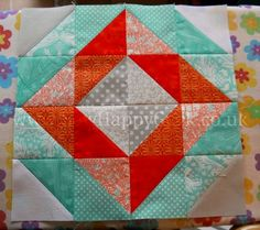 HST Diamond Quilt Block Tutorial 4