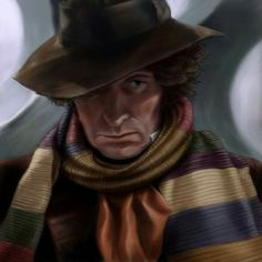 The 4th Doctor - from http://the-art-of-ravenwolf.deviantart.com