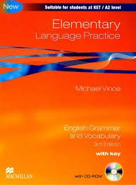 Elementary language practice with key : english grammar and vocabulary / Michael Vince http://encore.fama.us.es/iii/encore/record/C__Rb2560400?lang=spi