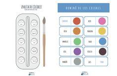 Descarga estas fichas para repasar los colores hechas por @abcdeEle Aquí: http://www.eleinternacional.com/semana-de-ele-para-ninos-dia-1-los-numeros-2/ ¿Qué te parece?