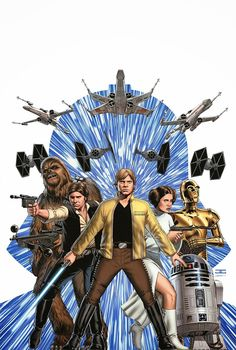 'Star Wars' by John Cassaday. Cover art from the new ongoing 'Star Wars' series from Marvel Comics in 2015