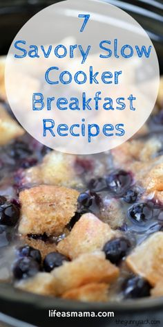 Want to make breakfast a little easier and more flavorful? Whip out your slow cooker and get some of these delicious breakfast recipes going!
