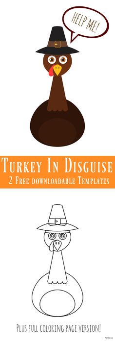 turkey template printable - Google Search   Holiday projects ...