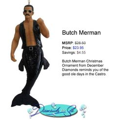 @Gee Rodger what about THIS? Butch Merman #funny #etsy #regretsy