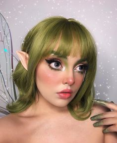"""(paid link) Why ask for golden highlights past you can order happening """"caramel mocha""""? We talked to top stylists to get the intel upon the best Hair Color For Brown Eyess to attempt right ... #haircolorforbrowneyes Pixie Makeup, Elf Makeup, Cosplay Makeup, Makeup Art, Makeup Tips, Hair Makeup, Fairy Costume Makeup, Lolita Makeup, Doll Eye Makeup"""