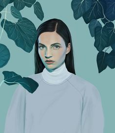 Kemi Mai is an eighteen year old illustrator from Manchester who i am SUPREMELY JEALOUS OF. this girl can do amazing things with pixels. she makes her art using a tablet and photoshop.