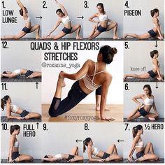 Hip Flexor Stretch: 716 Likes, 8 Comments - YOGA DIGEST™ (@yoga_digest...