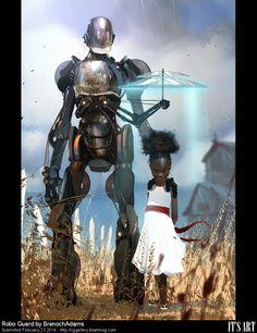 CG GAllery - Robo Guard by BrenochAdams