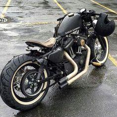 Custom HarleyDavidson Forty-Eight #harleydavidsonsportsterfortyeight