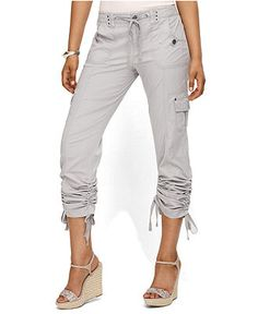 Rock Revival | Faded Cargo Capri Pant | HauteLook | Capri outfits ...