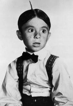 "Carl Switzer ""Alfalfa"" of The Little Rascals"