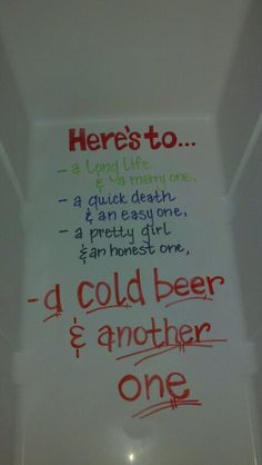 cooler ideas, too cute for a bachelor party