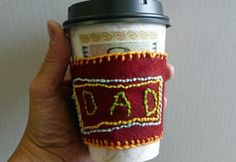 that artist woman: Coffee Cozy for Father's Day Coffee Cup Cozy, Coffee Girl, Coffee Scrub, Coffee Creamer, Drip Coffee, Hot Coffee, Coffee Drinks, Morning Coffee, Coffee Shop