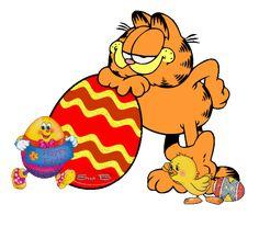 Happy Easter Garfield Eggs