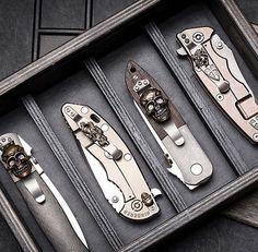 #Repost @kesongriffon ・・・ Griffon Industries knife box. #GriffonIndustries #knifeporn #emersonknives #steelflame #hinderercustom #hindererknives #knifesale