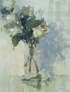 "Nancy Franke, ""I Can Only Imagine,"" oil on linen board, 20"" x 16"""