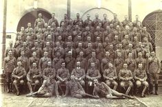 12th Lancers Corporals with Lt Col Frank Wormald