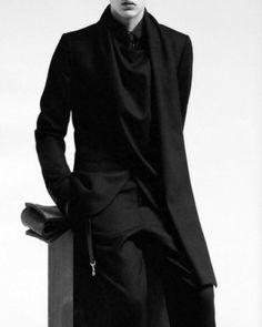 Getting his big break, Oleg Antosik stars in Dior Homme's fall 2010 campaign.