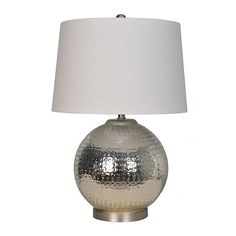 """Found it at Wayfair - Glass 25.5"""" Table Lamp"""
