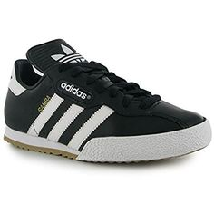 615adf20429 adidas Kids Boys Samba Super Junior Trainers Sports Shoes High Ankle Collar  Black White UK