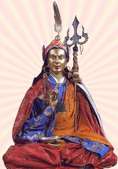Padmasambhava/ Guru Rimpoche - brought Buddhism to Tibet from India by Tony Bowall Photography, via Flickr
