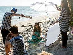 @People magazine goes behind the scenes of the mark Spring 2014 photo shoot with Brand Ambassador Lucy Hale