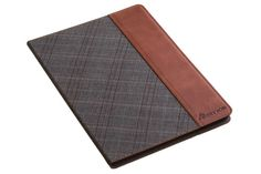 SettonBrothers Apple iPad Air 2 case -iPad 6- Genuine Leather - SmartShell case