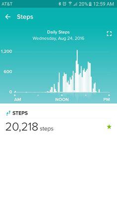 20,000 STEPS