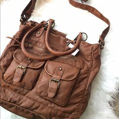 $30Ⓜ️ NWT Super Cute Boho Bag New with tags Boho Chestnut bag! Handles as well as shoulder strap for easy carrying. Multiple pockets and zippers for easy storing of your belongings! T-shirts and Jeans Brand! T-Shirt and Jean Bags Crossbody Bags