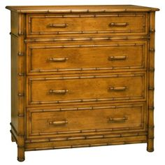 Redford House Faux Bamboo Dresser