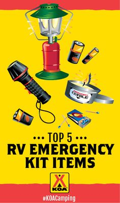 Top 5 RV Emergency Kit Items