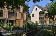 Archplan AG Architekten – Thalwil – St. Gallen: Wohnen bei der Mühle Gattikon