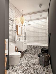 Ванная: Плитка, размещение предметов #CooInteriorPlanningTips