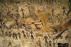 Pinturas Rupestres de Altamira. Humanos, Gigantes y saurios en la misma Época.