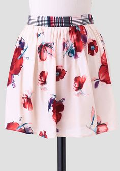 Perfect Moment Floral Skirt at #Ruche @Ruche