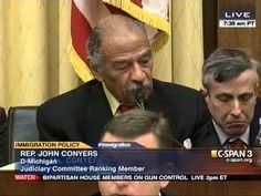 Conyers: 'I Hope Nobody Uses the Term Illegal Immigrant Here Today'   Ranking member on the House Judiciary Committee before the Committee's hearing on immigration law.   Twitchy 2-5-2013