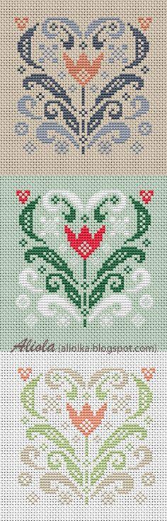 Мои творилки *** Aliolka design: Сердечный год. Мартовское сердечко!
