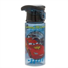 They can get set to race with this Cars water bottle. Featuring a screw top lid…