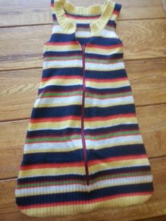 Upcycled wool sleep sack! Small 0-6 month! NOw PPD!