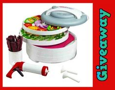 **GIVEAWAY TIME ** Nesco American Harvest Dehydrator All-In-One Kit with Jerky Gun