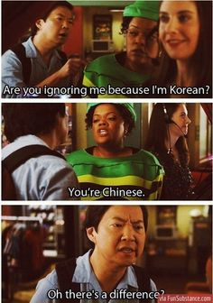 Ken jeong is hilarious