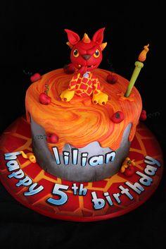 Skylanders cake by Andrea's SweetCakes, via Flickr